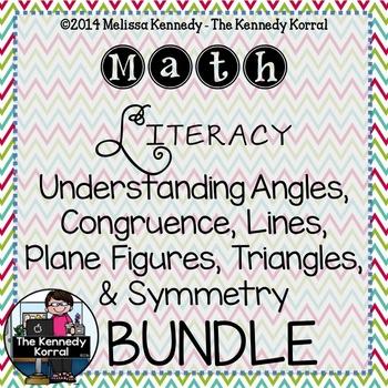 Geometry BUNDLE {Angles, Congruence, Plane Figures, Triang