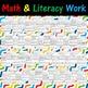 Preschool Letter Practice and Math Concepts - Practice Lit