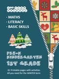 Math, Literacy and Basic Skills (2n Term) - Kindergarten & Grade 1 - Printable