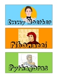 Math & Literacy group name labels