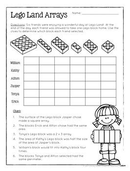 Math Logic Puzzles - 3rd grade Enrichment