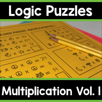 Math Logic Puzzles: Multiplication Enrichment Vol. 1