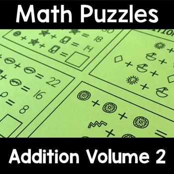 Math Logic Puzzles: Addition Vol. 2