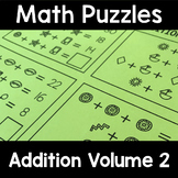 Math Logic Puzzles Addition Volume 2