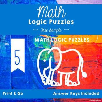 Math Logic Puzzles - Free Sample