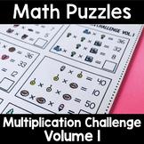 Math Logic Puzzles Multiplication CHALLENGE Volume 1