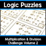 Math Logic Puzzles | Multiplication & Division CHALLENGE Vol.2 Logic Problems
