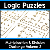 Math Logic Puzzles | Multiplication & Division CHALLENGE V