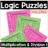 Math Logic Puzzles | Multiplication & Division Vol.1 Logic Problems