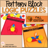 Math Logic Puzzles Shapes - Fall Edition
