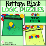 Math Logic Puzzles Shapes - Spring Edition