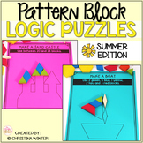 Math Logic Puzzles Shapes - Summer Edition