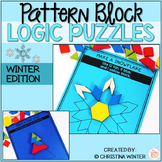 Math Logic Puzzles Shapes - Winter Edition