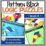 Math Logic Puzzles Shapes - level A