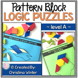Math Logic Puzzles Shapes - level A