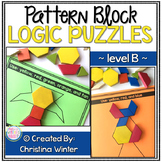 Math Logic Puzzles Shapes - level B