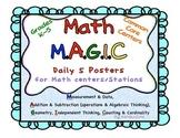 Math MAGIC Daily 5 Centers