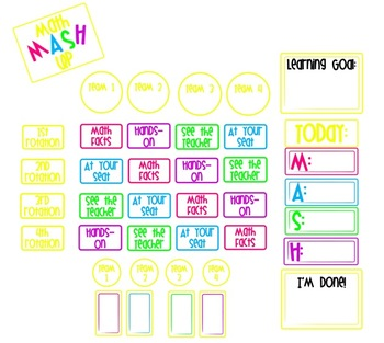 Math MASH Up! Making Math Workshop Work for You! (White Background)