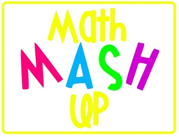 Math MASH Up! Making Math Workshop Work for You! (White Ba