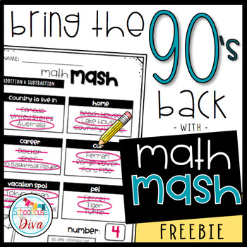 Math Mash Freebie - Add and Subtract to the Hundred Thousands