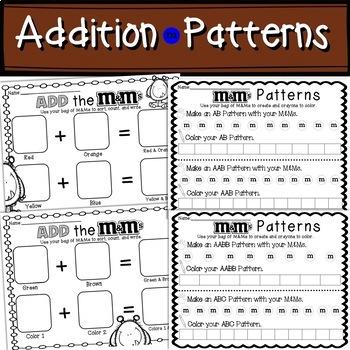 Math M&M's Monsters