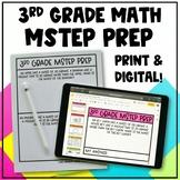 3rd Grade Math MSTEP Packet & Google Slides - Digital and
