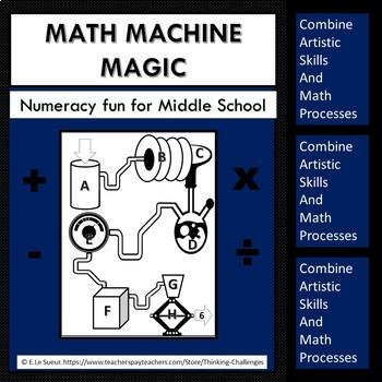 Math Machine Challenges