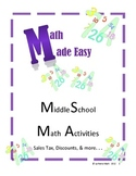Math Made Easy - Sales Tax, Discounts, and More! Math Review