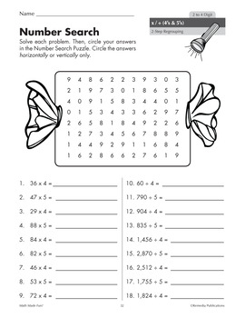 Math Made Fun! Self-Checking Activities for Multiplication & Division