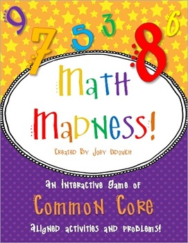 Math Madness: Aligned to Common Core Standards