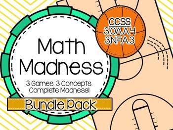 Math Madness: Bundle Pack