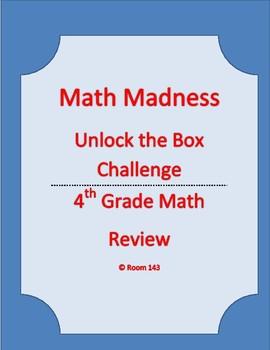 Math Madness - Escape Room Box Challenge