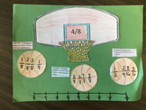 Math Madness Fraction activity