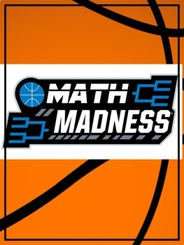 Math Madness Game Board