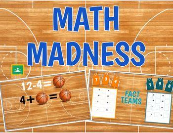 Math Madness Interactive Google Slide