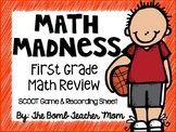 Math Madness SCOOT Game/Task Cards