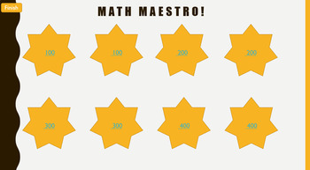 Math Maestro- Multiplication and Divsion