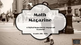 Math Magazine (Famous Mathematicians) Digital Project