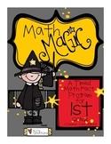 Math Magic: A Timed Math Fact Program - 1st Grade COMMON C