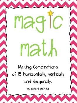 Math Magic Combinations of 15