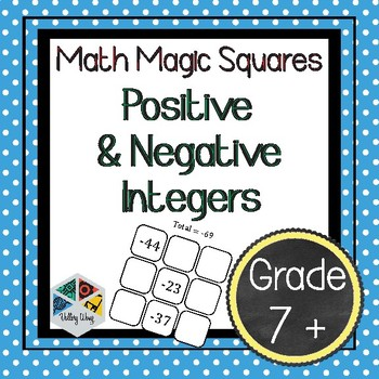 Magic Square 4x4 Worksheet Answers
