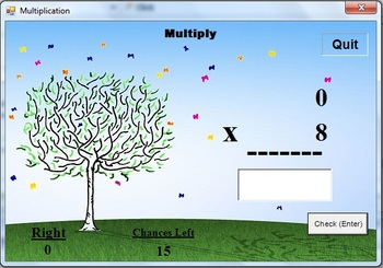 Math Magica Computer Program Add, Subtract, Multiply, and Divide