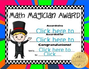 Math Magician Award2