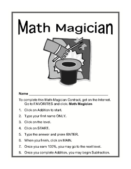 Math Magician Contract