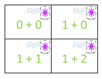 Math Mail: Sorting and Matching Numbers 0 to 20  (Numerical Expressions)