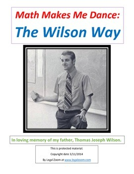 Math Makes Me Dance: The Wilson Way