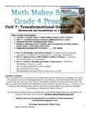 Math Makes Senses Grade 4 (2004) Unit 7: Transformational