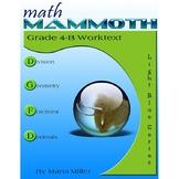 Math Mammoth Grade 4-B Complete Curriculum
