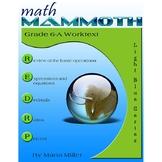 Math Mammoth Grade 6-A Complete Curriculum