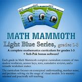 Math Mammoth Light Blue Series (grades 1-3)